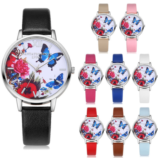 Butterfly Women Watch