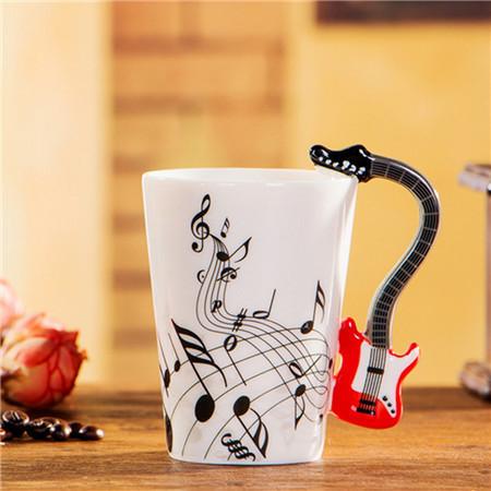 guitar mug cup