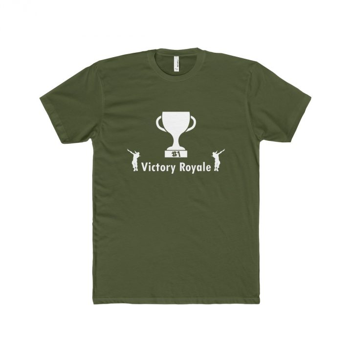 Victory Royale trophy Fortnite Battle Royale Men's T-Shirt