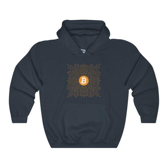 Bitcoin Unisex Hooded Sweatshirt