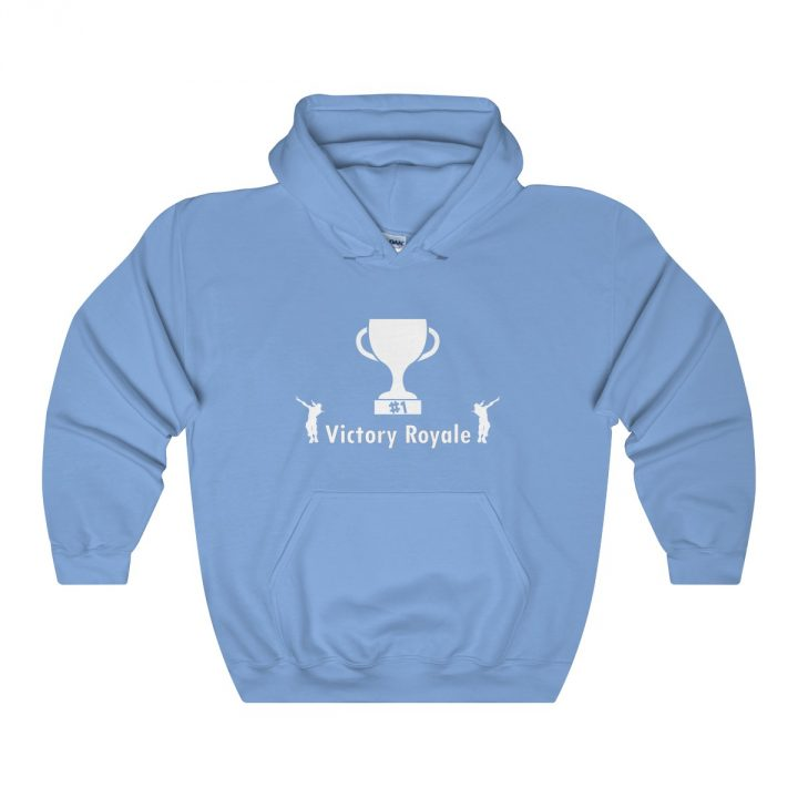 Victory Royale trophy Fortnite Battle Royale Unisex Hooded Sweatshirt