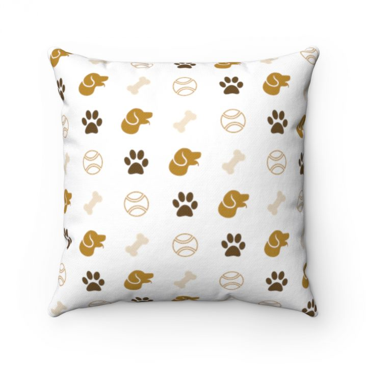 dog pet patter pillow