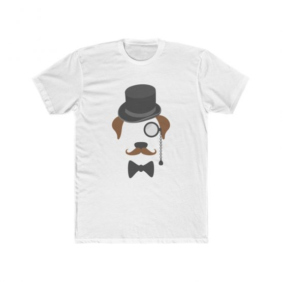 Gentleman Dog with Hat Men's T-Shirt