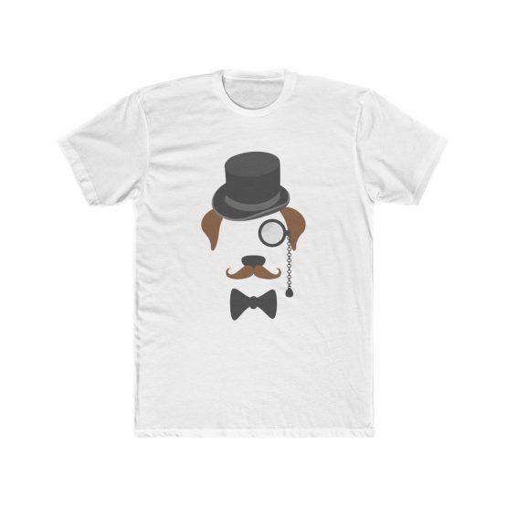 Gentleman Dog with Hat Men's T-Shirt