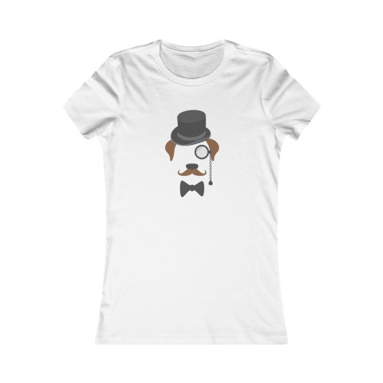 Gentleman Dog with Hat Women's T-Shirt