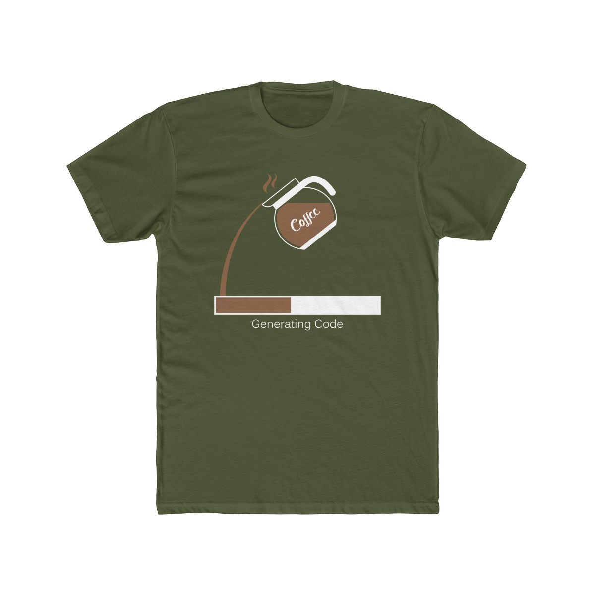 Solid Military Green