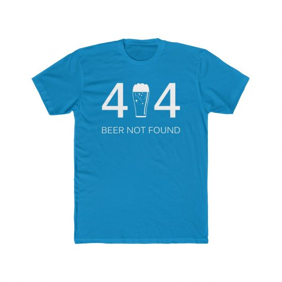 Error 404 Beer Not Found Men's T-Shirt