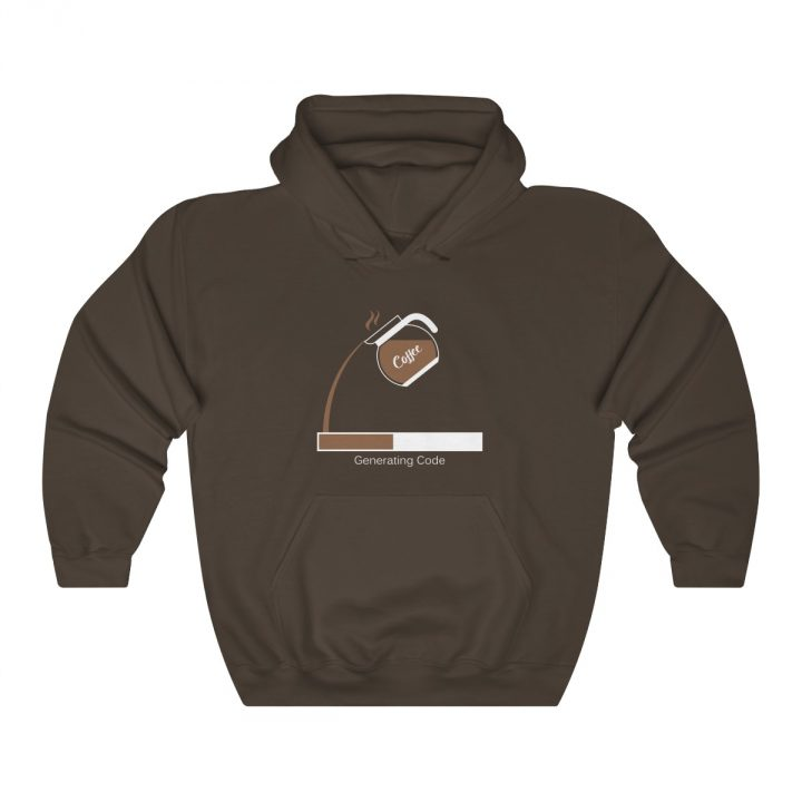 Turn Coffe into Code Unisex Hooded Sweatshirt
