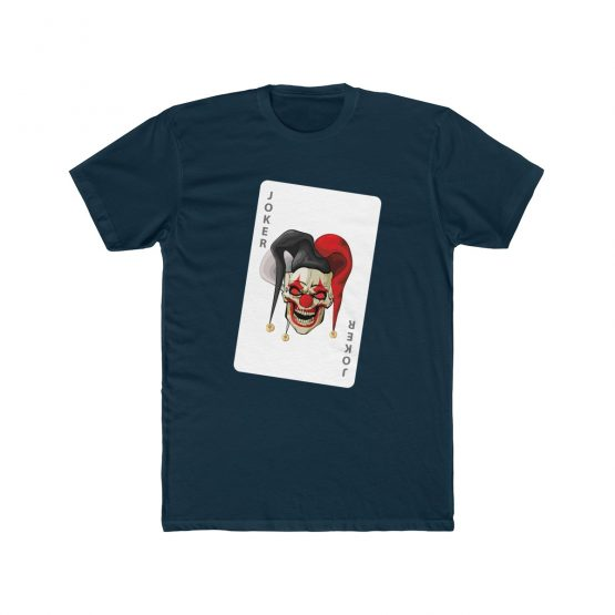 men t-shirt evil joker