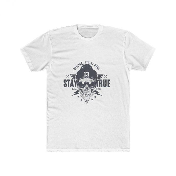 Men's T-Shirt Stay True Skull
