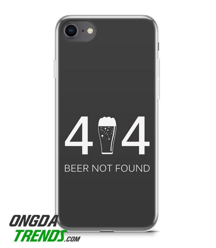 iPhone case code 03 404 beer not found