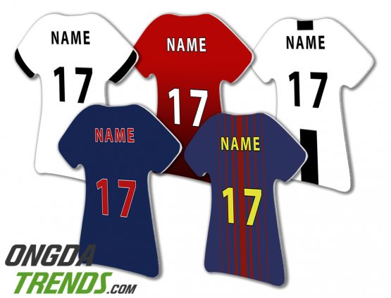 magnets t-shirt football teams custom name and number