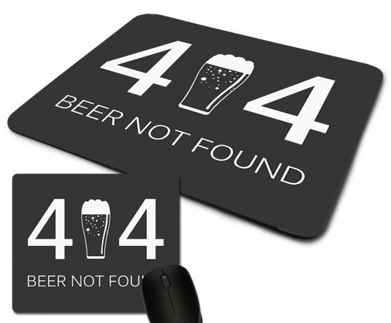 mouse pad 404 beer not found