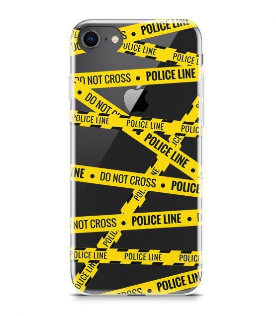 phone case police line do not cross