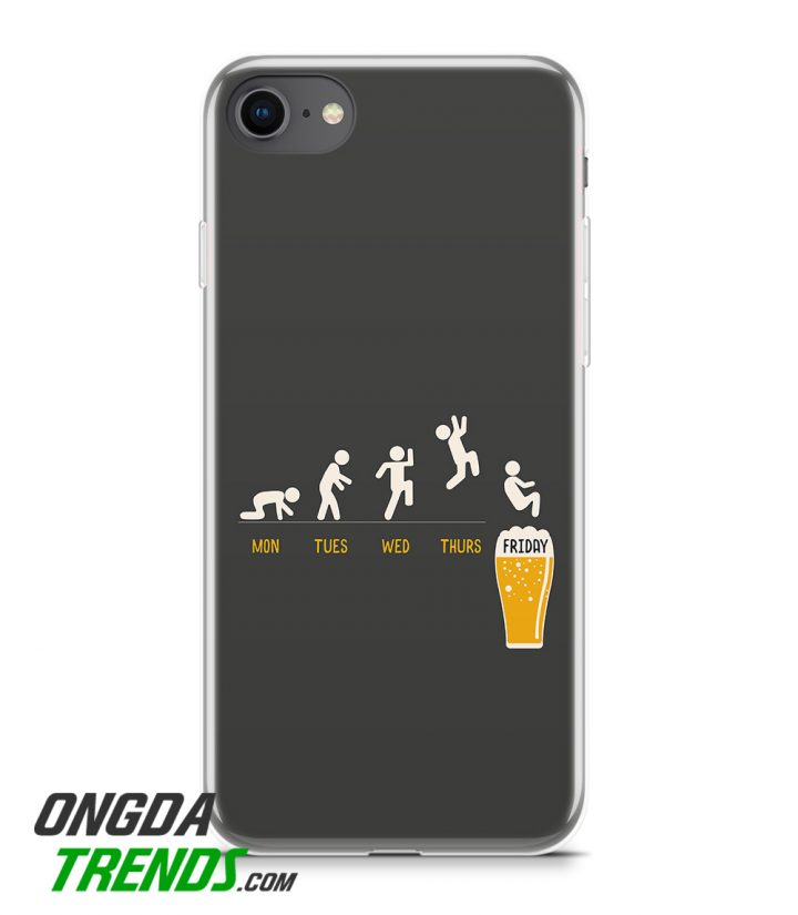 silicone phone case Man Jump Into A Glass Of Beer